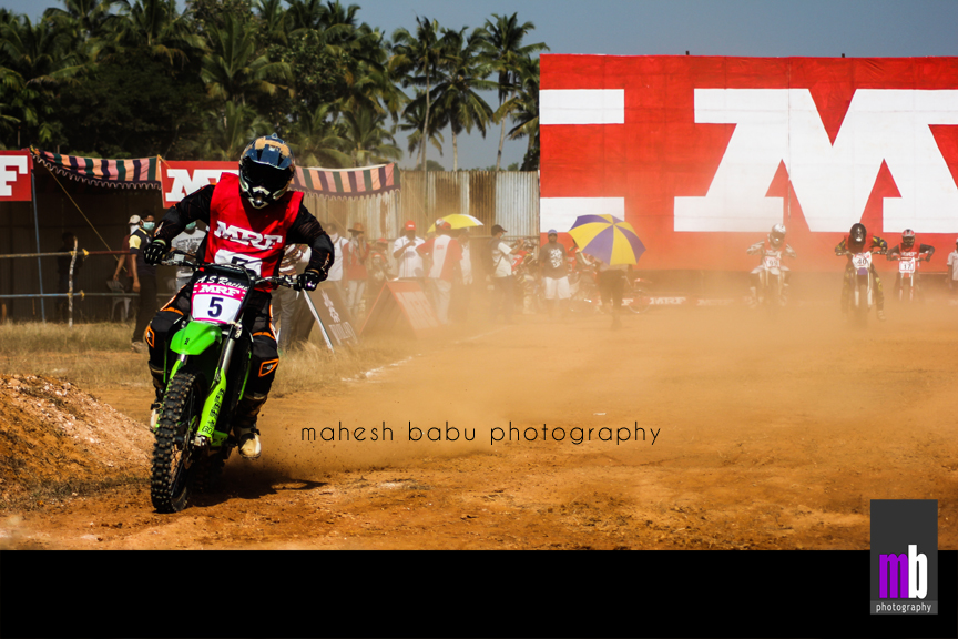 The Leader - MRF Supercross Championship 2012 - Mahesh Babu Photography